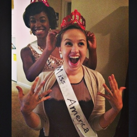 April won Miss America...kinda