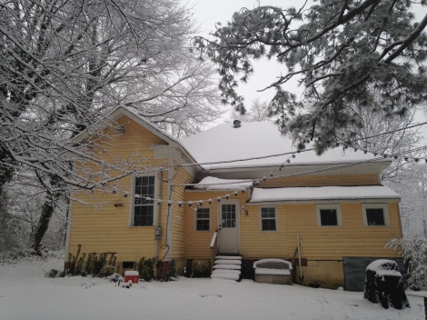 our little house on the best snow day ever